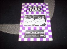Queens Park Rangers v West Ham United, 1974/75